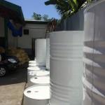200l virgin coconut oil drums